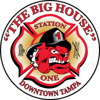 Tampa Fire Rescue Station 1 decal