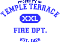 Property of Temple Terrace Fire Department Shirt