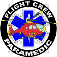 Flight Crew Paramedic Shirt