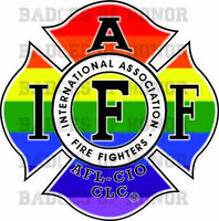 IAFF LBGT FIREFIGHTER DECAL