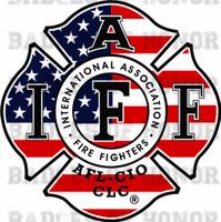 IAFF AMERICAN FLAG SHIRT