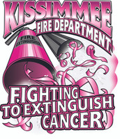 Kissimmee Fire Department Cancer Shirt