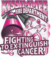 Kissimmee Fire Department Cancer Shirt