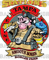 Tampa Fire Rescue Station 5 Shirt (New)