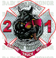 Tampa Fire Rescue Station 21 Shirt v2