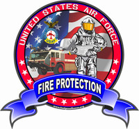 USAF Fire Protection T-Shirt