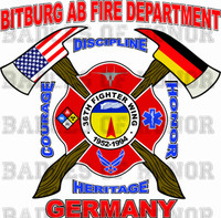 BITBURG AIR BASE FIRE DEPARTMENT SHIRT