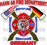 Hahn Air Base Fire Protection Shirt
