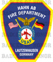 Hahn Air Base Fire Protection Shirt v2