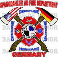 Spangdahlem Air Base Fire Department Shirt