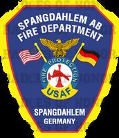 Spangdahlem Air Base Fire Department Shirt v2