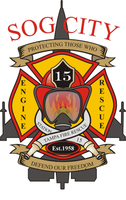Tampa Fire Rescue Station 15 decal
