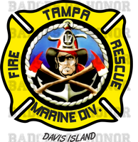 Tampa Fire Rescue Station 17 decal