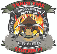 Tampa Fire Rescue Station 21 decal