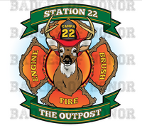 Tampa Fire Rescue Station 22 decal