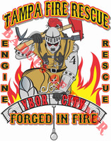 Tampa Fire Rescue Station 4 Shirt v2