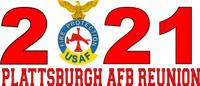 Plattsburgh AFB Fire Dept. Reunion Shirt