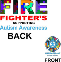 Autism Firefighter Shirt