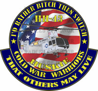 HH-43 HUSKIE Cold War Warriors Shirt