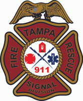 Tampa Fire Rescue Signal Division Shirt