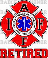 Fire Medic Shirt Retired