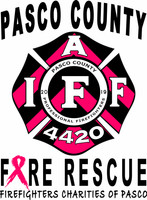 Pasco County Fire Rescue 2019 Cancer Shirt