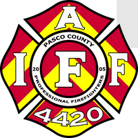 Pasco County Firefighters Local 4420 Truck Back Shirt