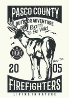 Pasco County Firefighters Local 4420 Hunting  shirt