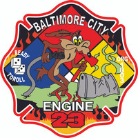 Baltimore City Engine 23 Shirt