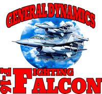 USAF F-16 Shirt v2