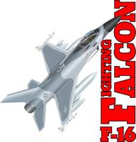 USAF F-16 Shirt v4