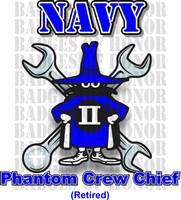 McDonnell Douglas F-4 Phantom II  Navy Crew Chief Shirt