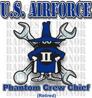 McDonnell Douglas F-4 Phantom II  Airforce Crew Chief Shirt