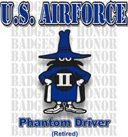 McDonnell Douglas F-4 Phantom II  USAF Driver Shirt