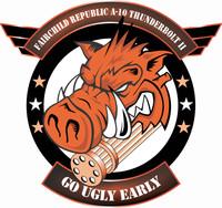 Fairchild Republic A-10 Thunderbolt II Go Ugly Shirt