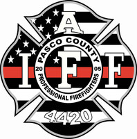 Pasco County Firefighters Local 4420 Thin Red Line Shirt