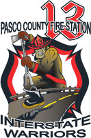 Pasco County Fire Rescue Station 13 shirt