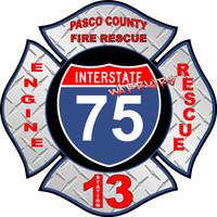 Pasco County Fire Rescue Station 13 shirt v2