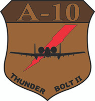 Fairchild Republic A-10 Thunderbolt II Desert Logo Shirt