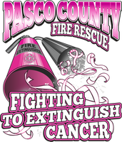 Pasco County Fire Rescue 2020 Cancer Shirt