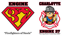 Charlotte Fire Department Station 37 Shirt