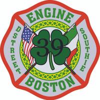 Boston Fire Department Engine 39 Shirt(Unofficial)