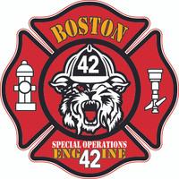 Boston Fire Department Engine 42 Shirt (Unofficial)