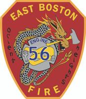 Boston Fire Department Engine 56 Shirt(Unofficial)