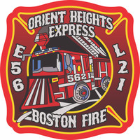 Boston Fire Department Engine 56 Ladder 21 Shirt (Unofficial)