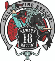 Dallas Fire Rescue Station 18 Shirt (Unofficial)