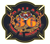Dallas Fire Rescue Station 36 Shirt (Unofficial) v2