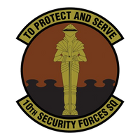 10th SECURITY FORCES SQUADRON Shirt