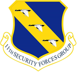 11th SECURITY FORCES Group Shirt