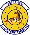 11th SECURITY FORCES Squadron Shirt